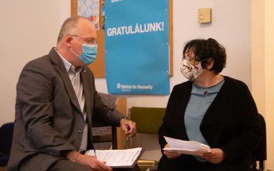 Hét háztartást támogatott a Berda József Lakhatási Alap