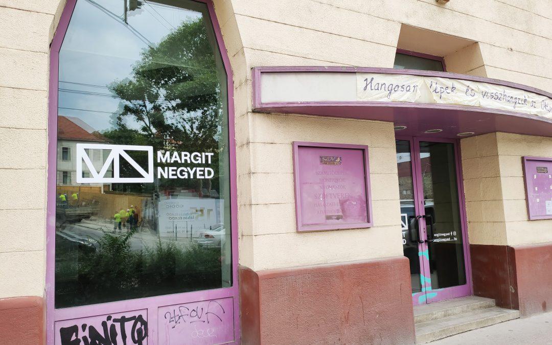 Évek óta üresen álló épületben alakít ki Kreatív Központot a Habitat a Margit körúton